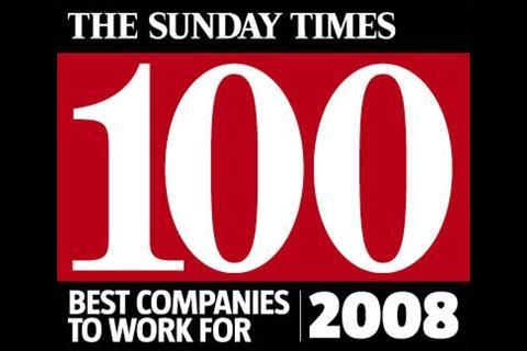 The Sunday Times 100 Best Companies to Work For awards